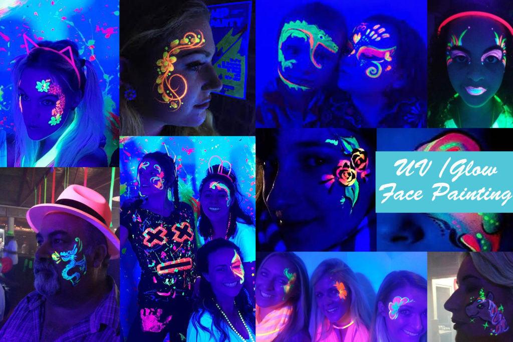 UV FACE PAINTING Cape Town