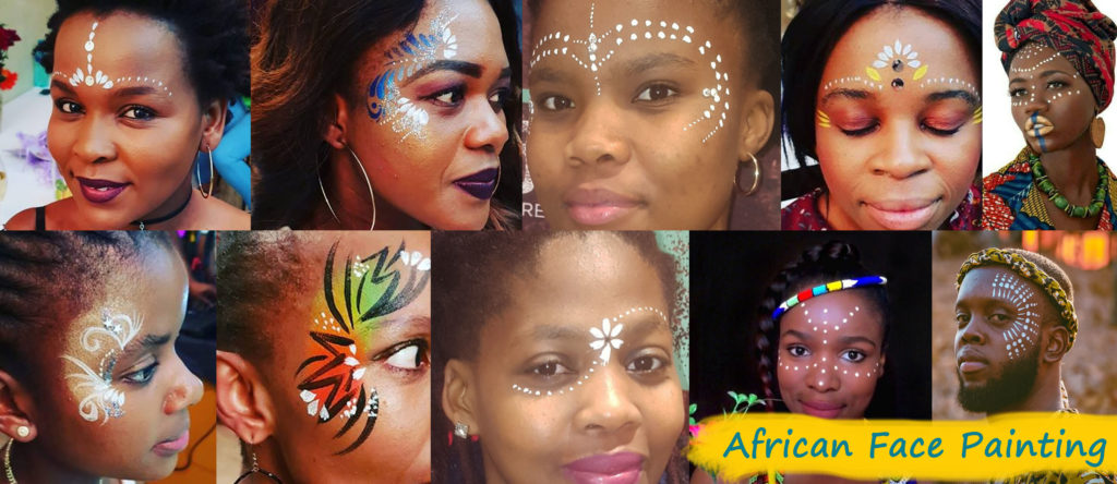 African Face Painitng